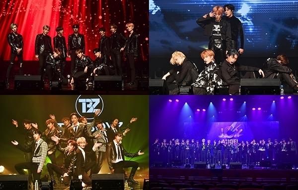 [조이천사콘서트 2nd] 더보이즈·베리베리·엔쿠스, 역동적 무대 '글로벌 팬덤 열광'